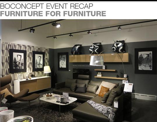 Boconcept August 2013 Newsletter Design Sale Event Recap